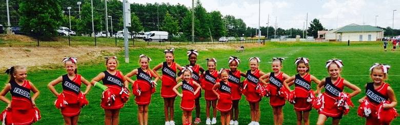 Falcon Cheerleaders Team photo